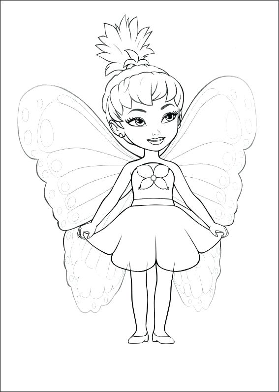 567x794 Disney Coloring Pages Online Fairy Colouring Pages For Kids Fairy