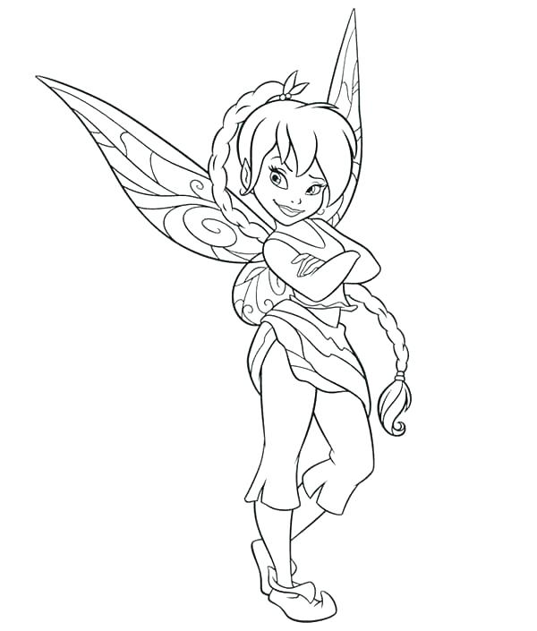 600x705 Fairies Coloring Pages Online Printable And Other Fairies Coloring