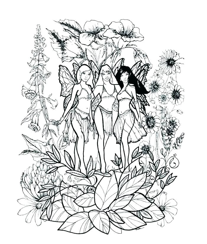 700x825 Fairy Printable Coloring Pages Coloring Pages Cool Fairy Color