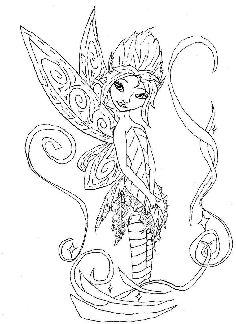 762x1048 Awesome And Beautiful Coloring Pages Of Fairies Free Printable
