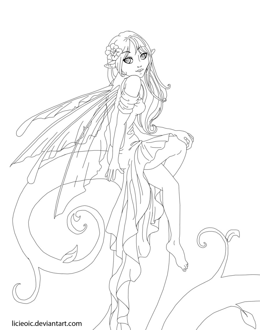 900x1139 Online Anime Coloring Pages Newyork Rp Anime Fairy Coloring Pages