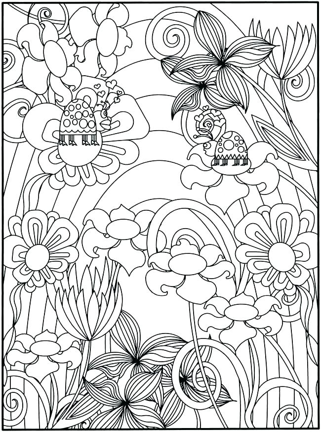 650x873 Vegetable Garden Coloring Pages Garden Coloring Page Great Flower