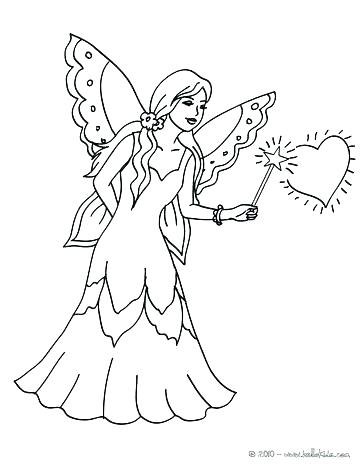 363x470 Fairy Color Pages Coloring Pages Fairy Fairy Color Pages Fairy