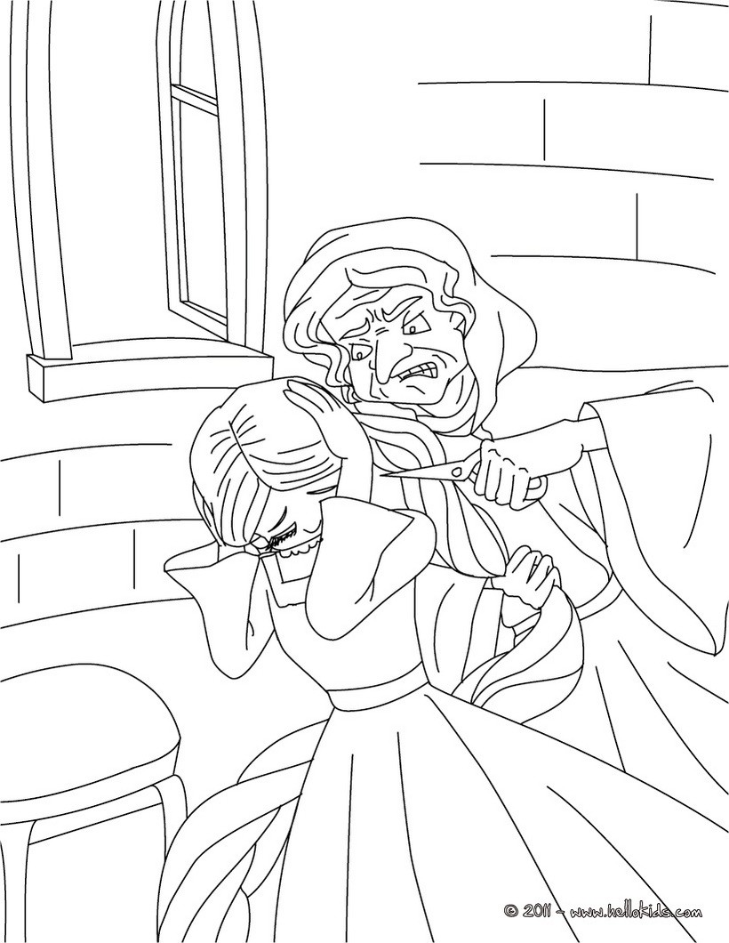 820x1060 Grimm Fairy Tales Coloring Pages