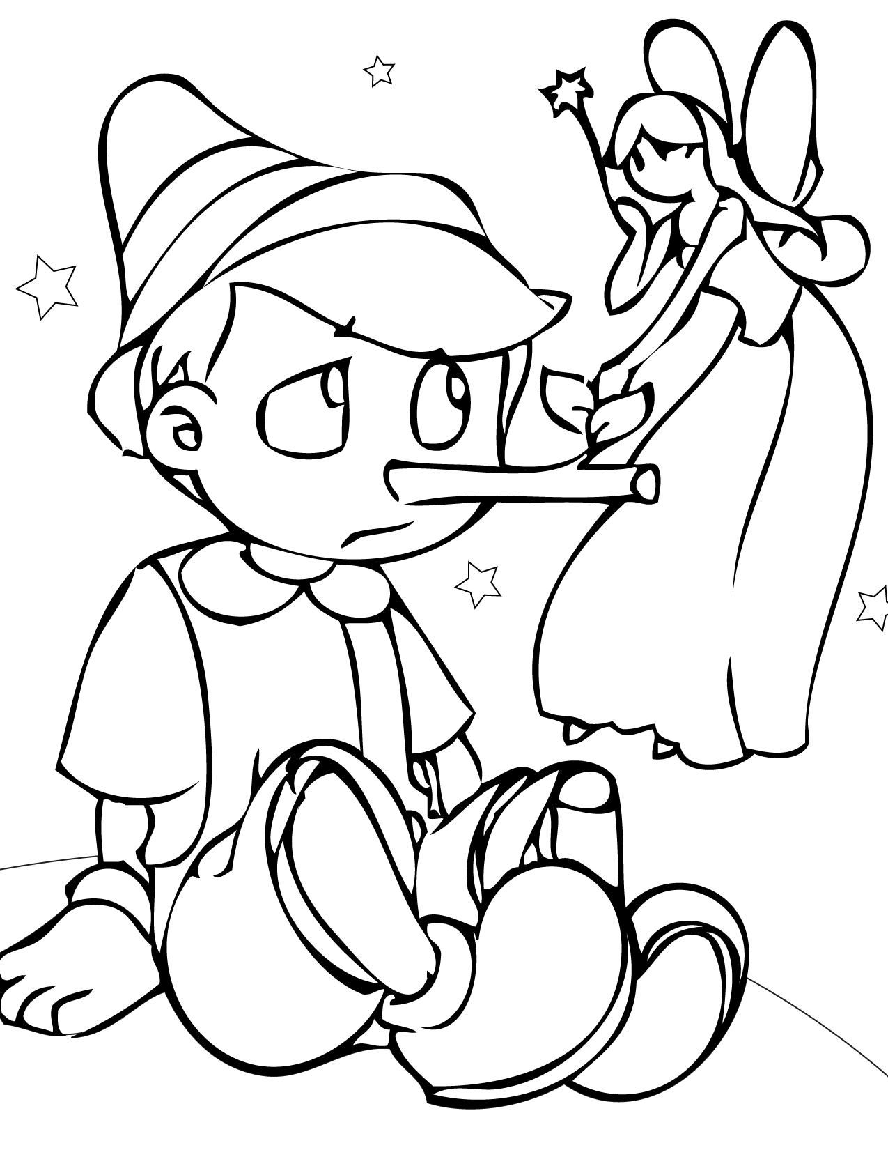 1275x1650 Coloring Pages Fairy Tales