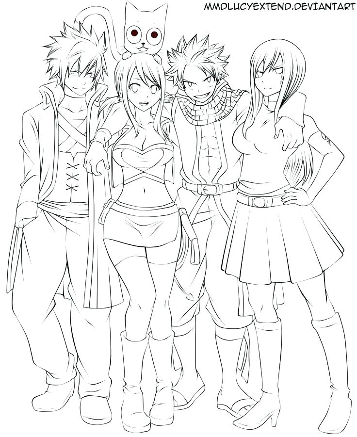 736x901 Fairy Tail Coloring Pages Great Fairy Tale Coloring Pages