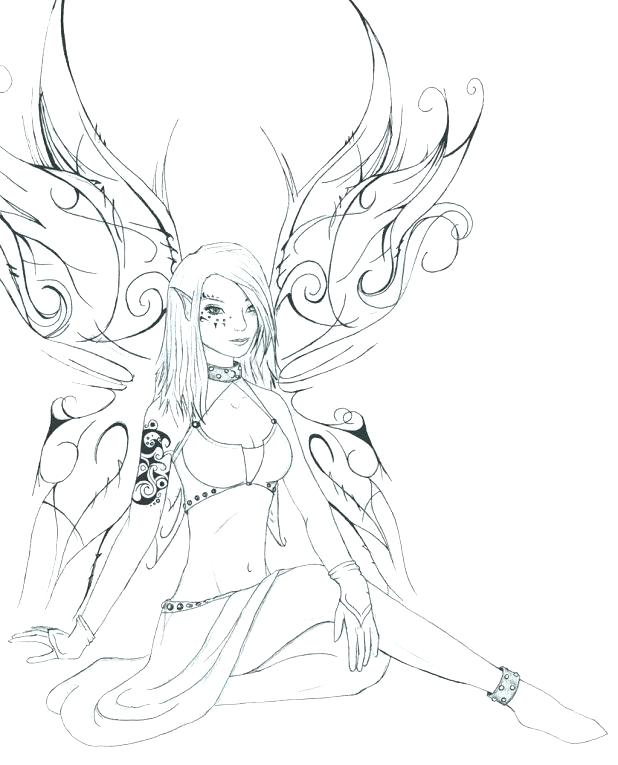 618x765 Anime Fairy Coloring Pages Anime Fairy Coloring Pages Exotic Fairy