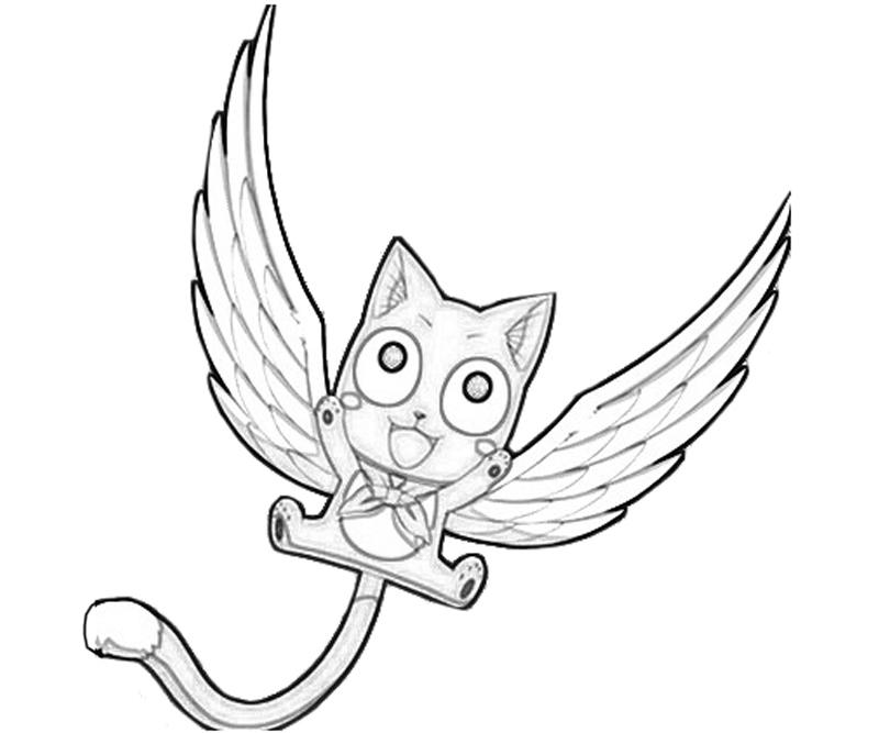 800x667 Fairy Tail Coloring Pages