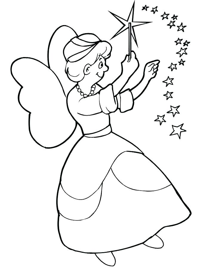 700x897 Fairy Pictures To Color