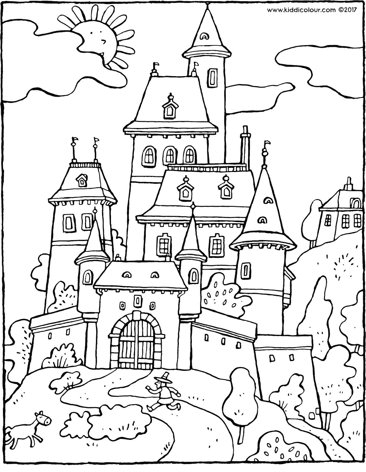 1240x1600 Fairy Tale Castle