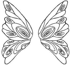 300x276 Fairy Wings Fairy, Butterfly And Craft