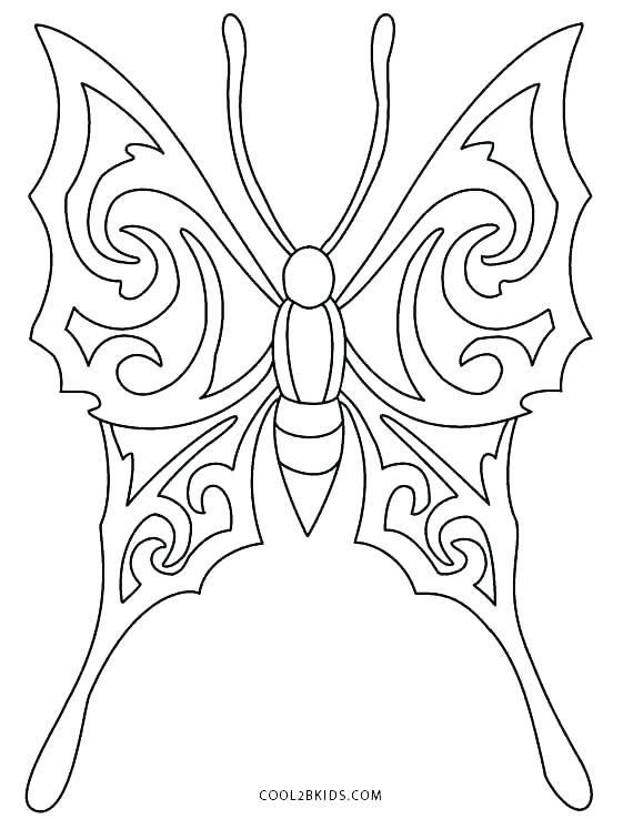 561x738 Fairy Wings Coloring Pages Butterfly Wings Coloring Pages Page