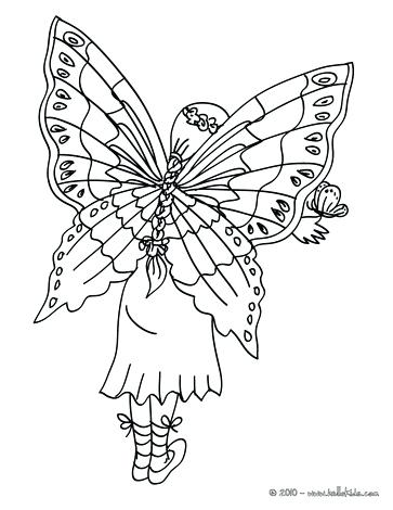 363x470 Fairy Wings Coloring Pages Fairy Wings Coloring Page Fairy Wings