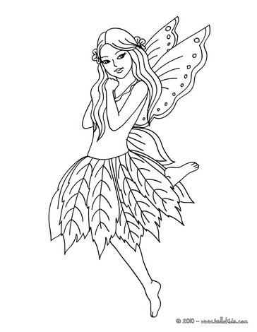 364x470 Fairy Wings Coloring Pages