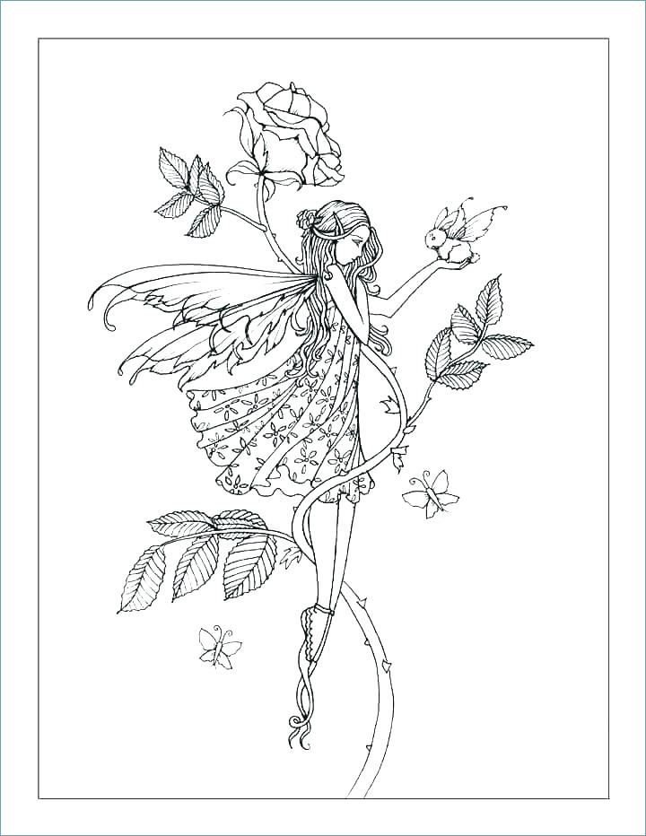 720x932 Fairy Wings Coloring Pages