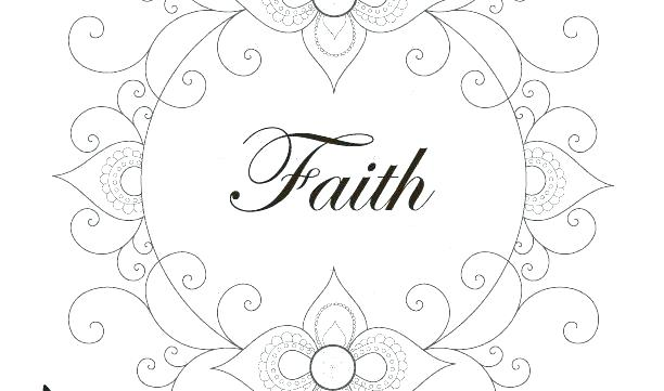 612x361 Faith Coloring Pages Shield Of Faith Coloring Page Shield Of Faith
