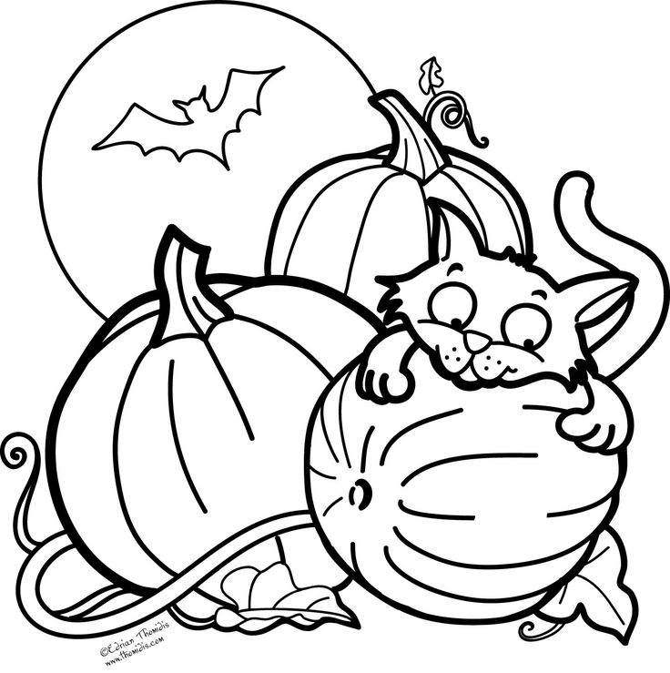 736x739 Best Halloween Stuff Images On Coloring Pages