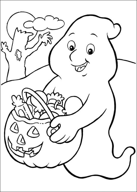 567x794 Free Printable Coloring Pages Halloween