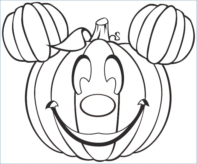 648x540 Halloween Coloring Pages Disney