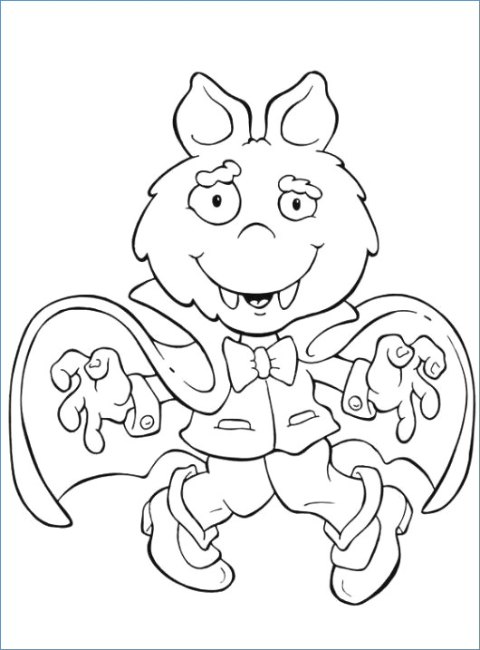 530x717 Halloween Coloring Pages Spider Web