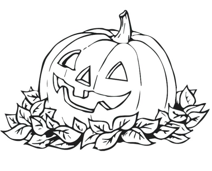 687x554 Color Pages For Halloween Coloring Pages For Preschoolers Coloring
