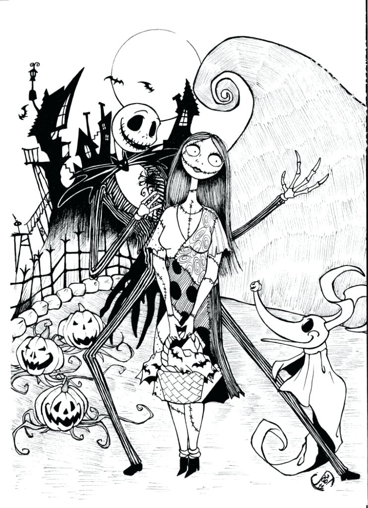 742x1024 Cool Halloween Coloring Pages Printable Coloring Page Fun Free