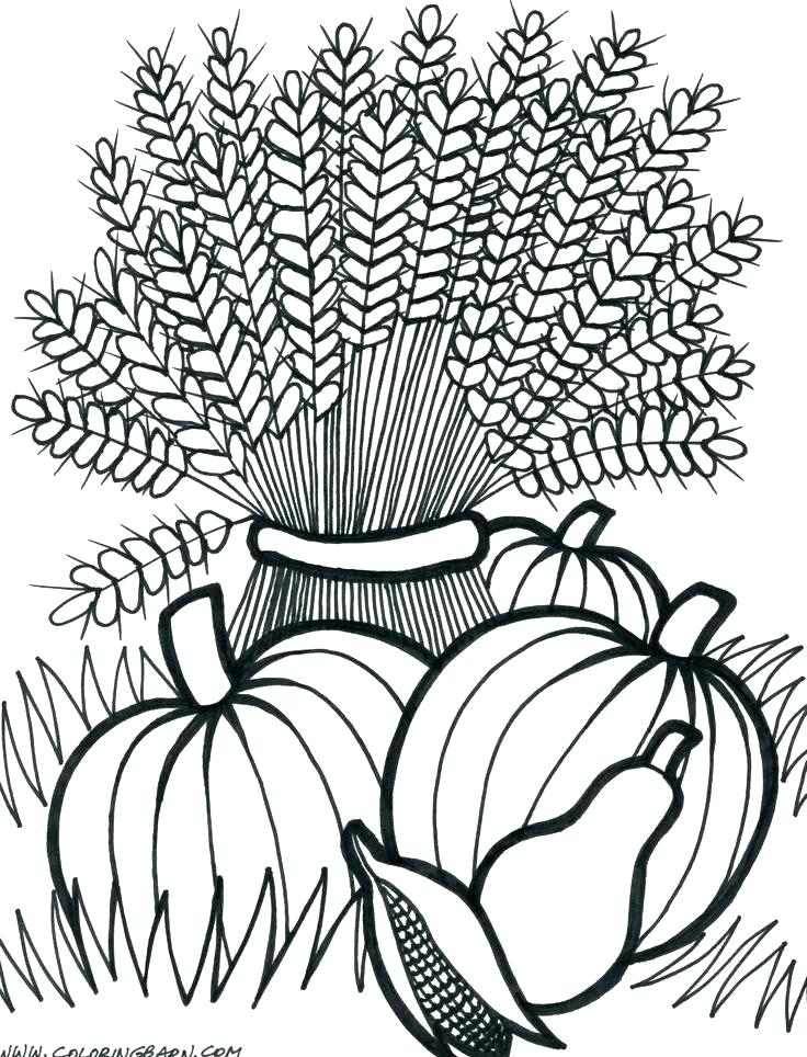 736x964 Fall Festival Coloring Pages Coloring Pages Autumn Boy And Girl