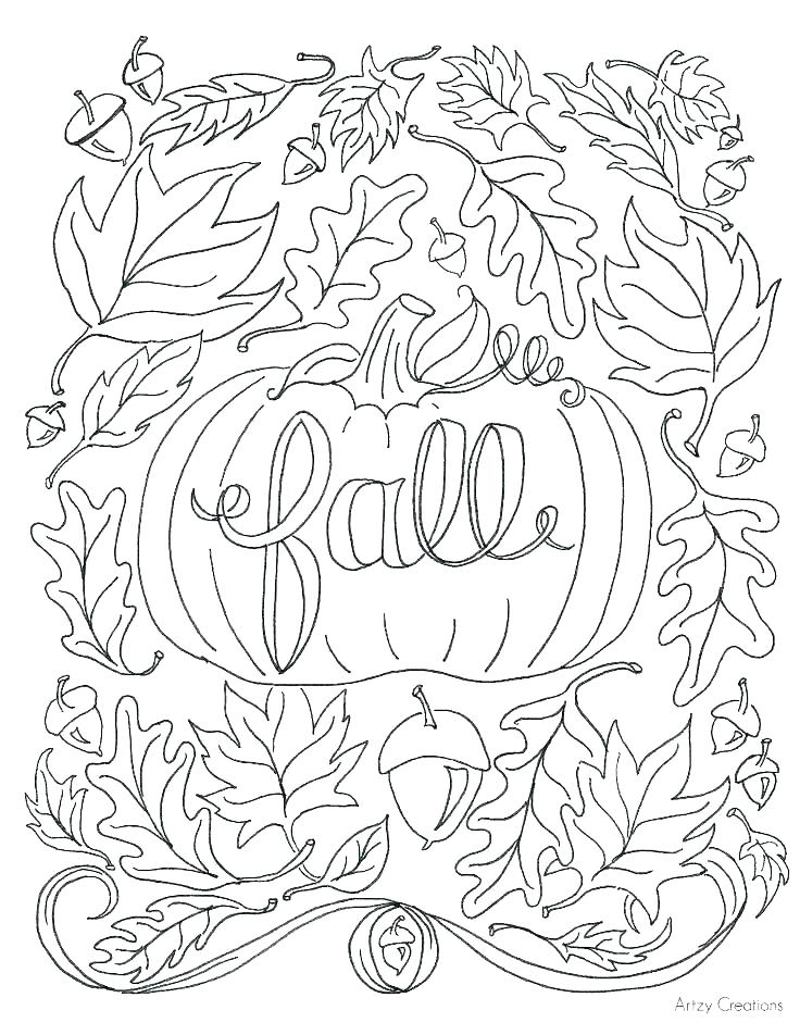 736x952 New Fall Leaves Coloring Pages Coloring Pages