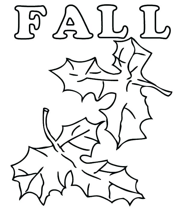 618x690 Fall Printables Coloring Pages Leaves Printable Page Leaf Of Free