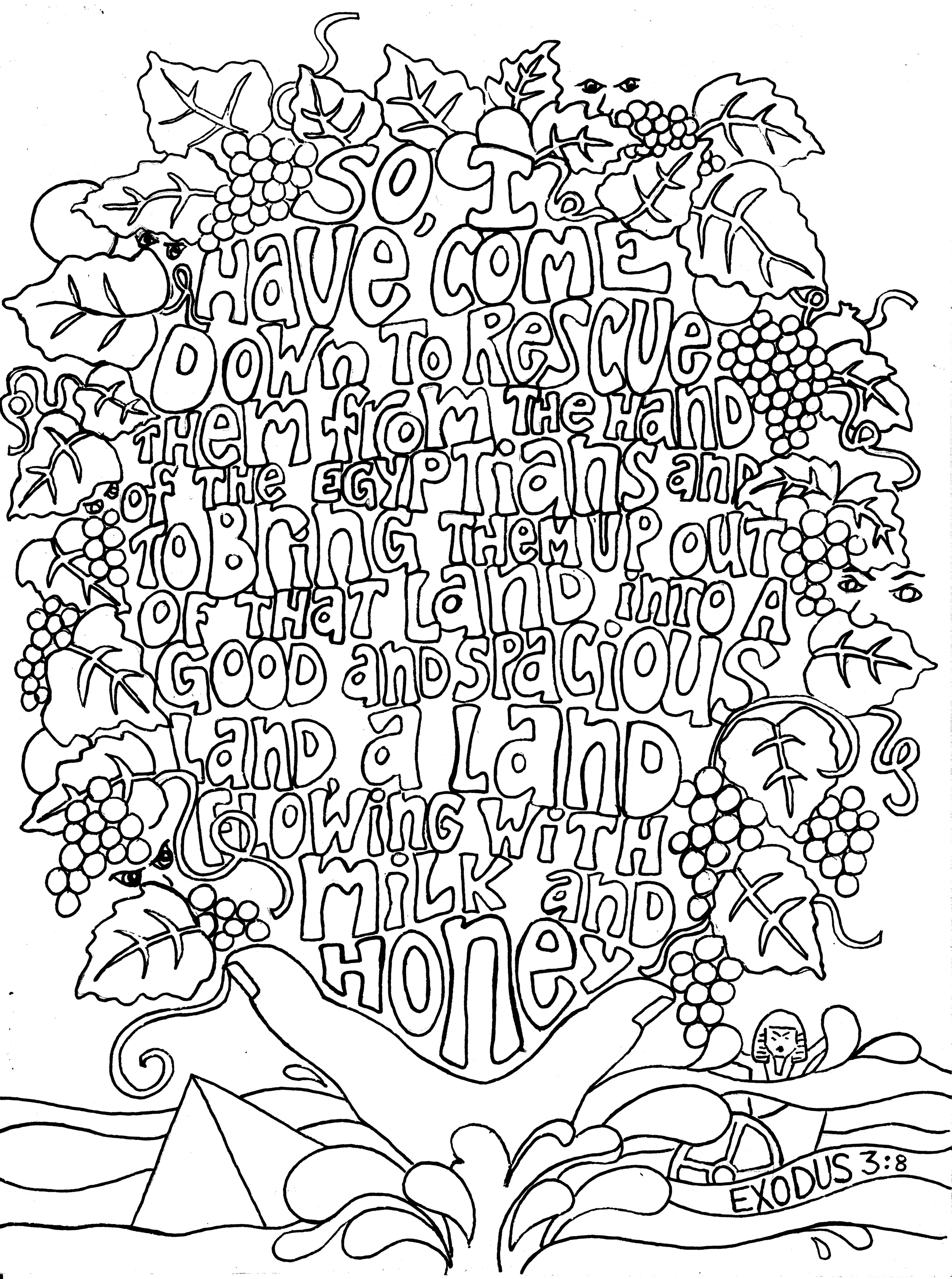 2358x3168 Adult Bible Coloring Pages To Funny Page On Scripture