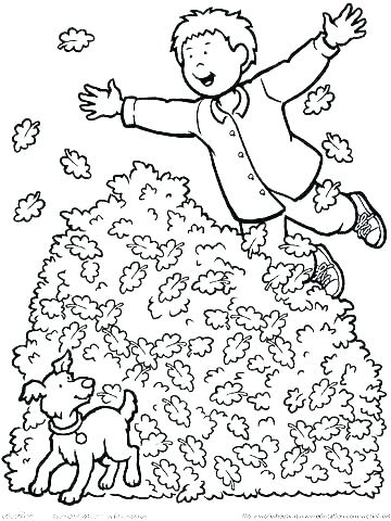 360x480 Fall Coloring Pages For Preschoolers