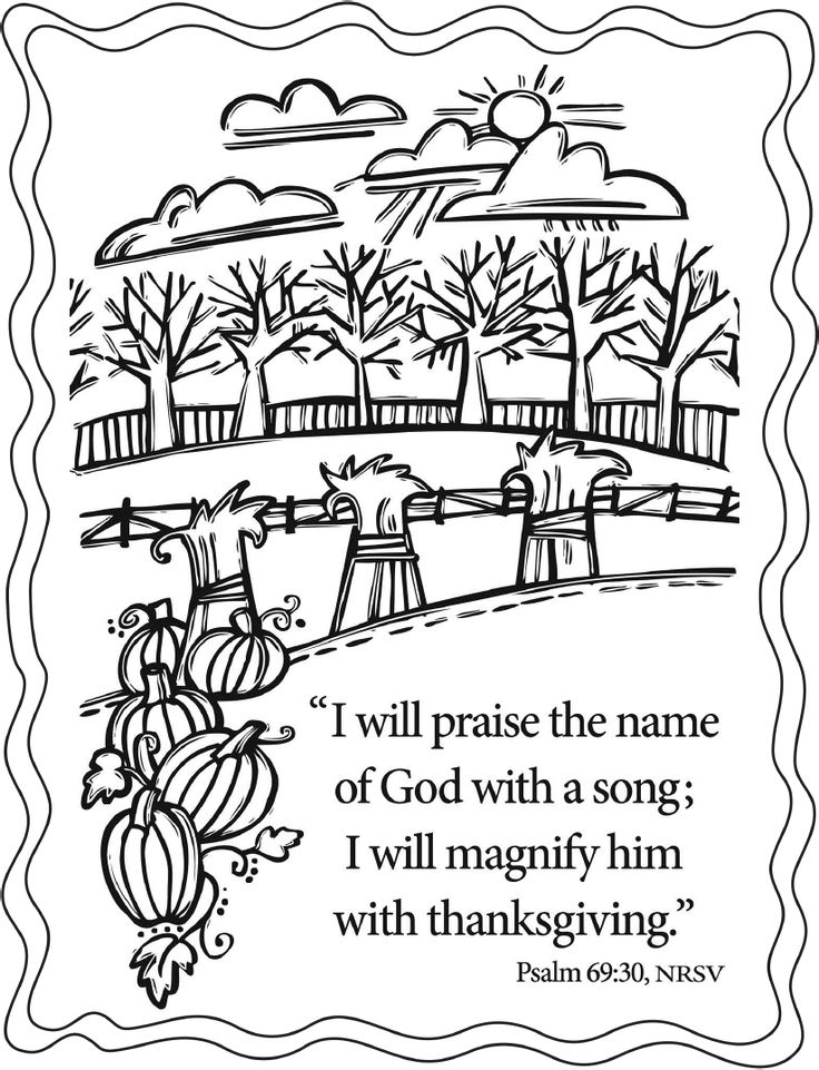 736x961 Free Christian Thanksgiving Coloring Pages Best Thanksgiving
