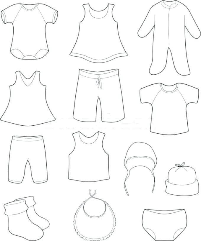 680x817 Clothing Coloring Page Cute Baby Coloring Pages Page Clothes Hot