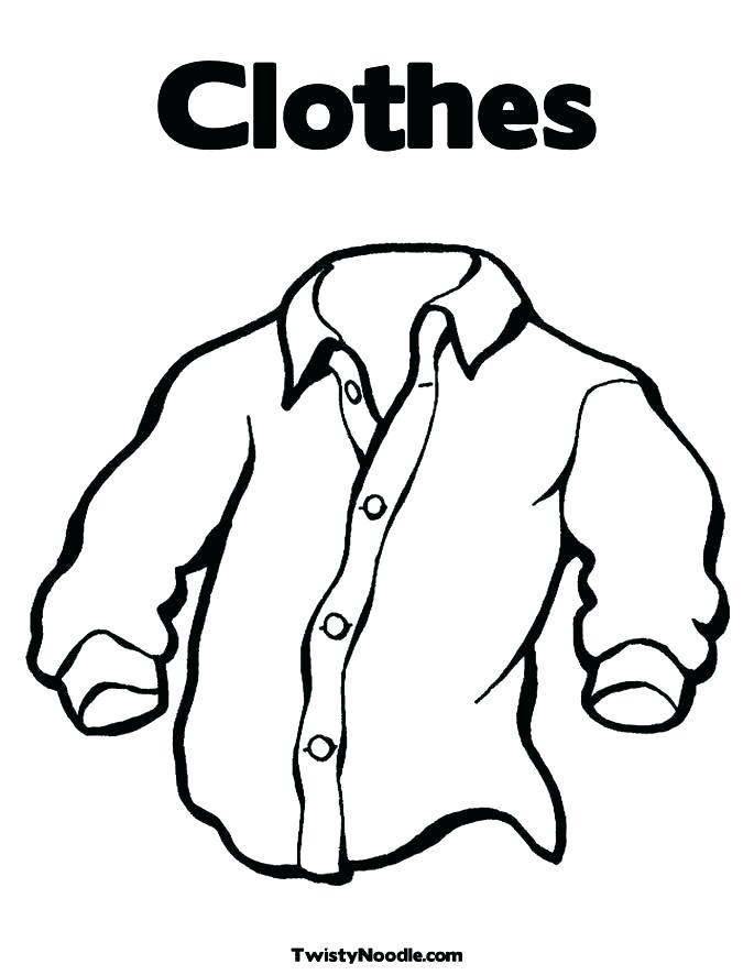 685x886 Clothing Coloring Page Summer Clothing Coloring Page Coloring