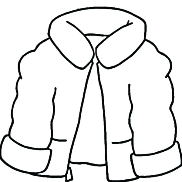 600x600 Clothing Coloring Pages Winter Clothes Coloring Pages Printable