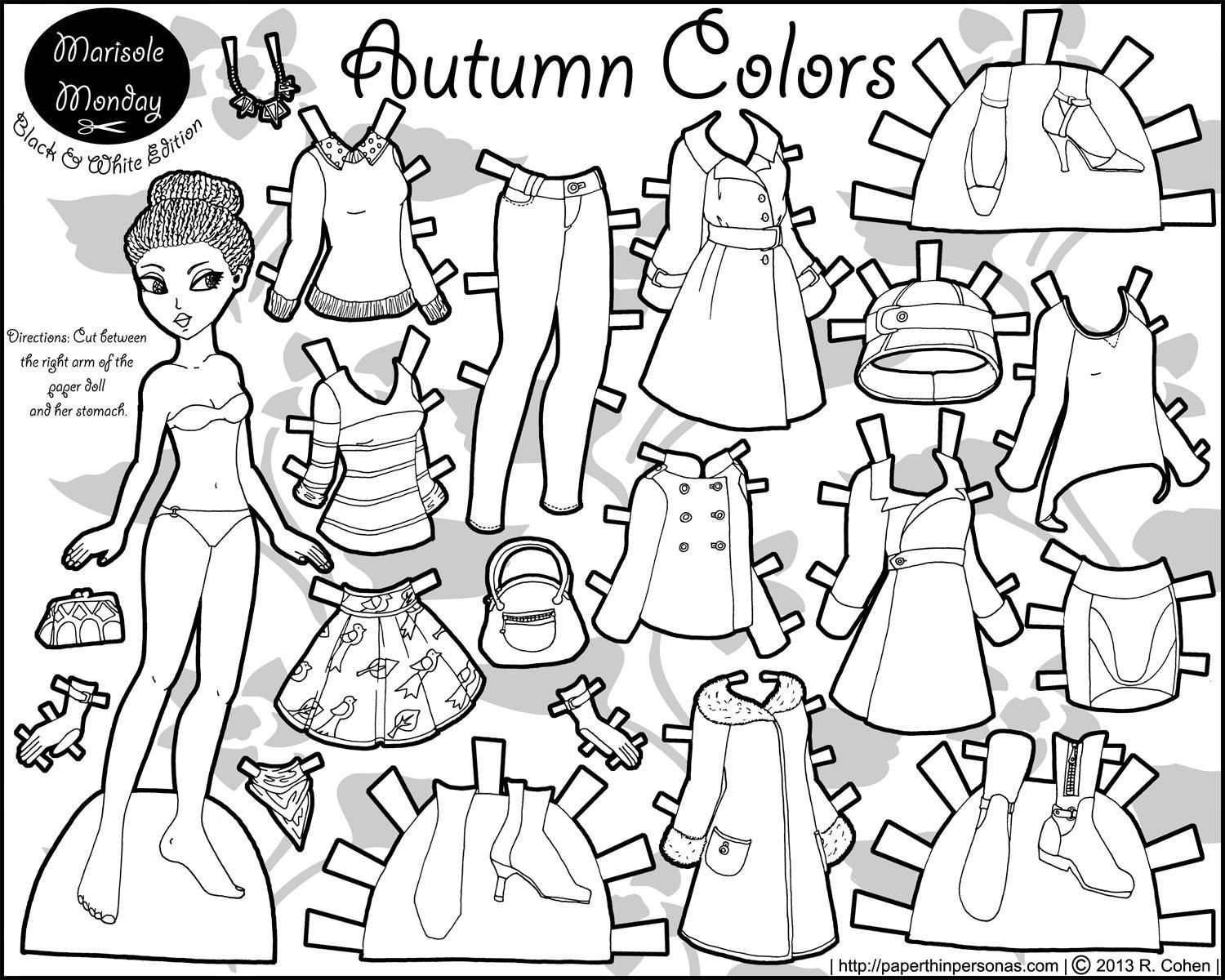 1500x1200 Autumn Clothes Coloring Pages Coloring Sheets