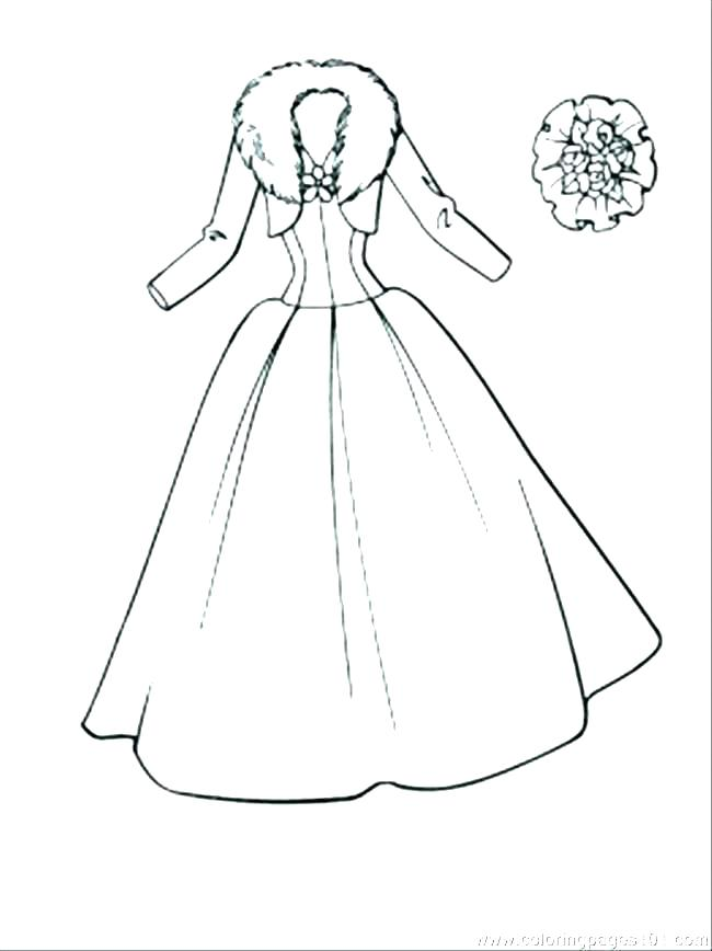 650x868 Coloring Pages Clothes Printable Professional