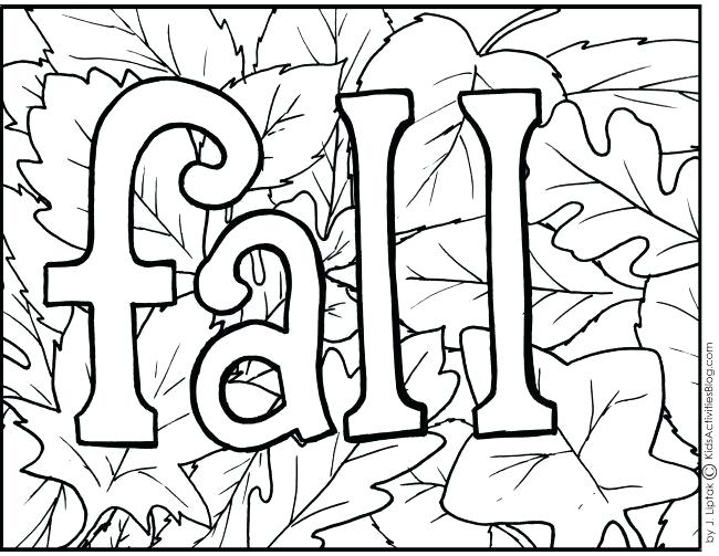 650x503 Fall Printable Coloring Pages Icontent