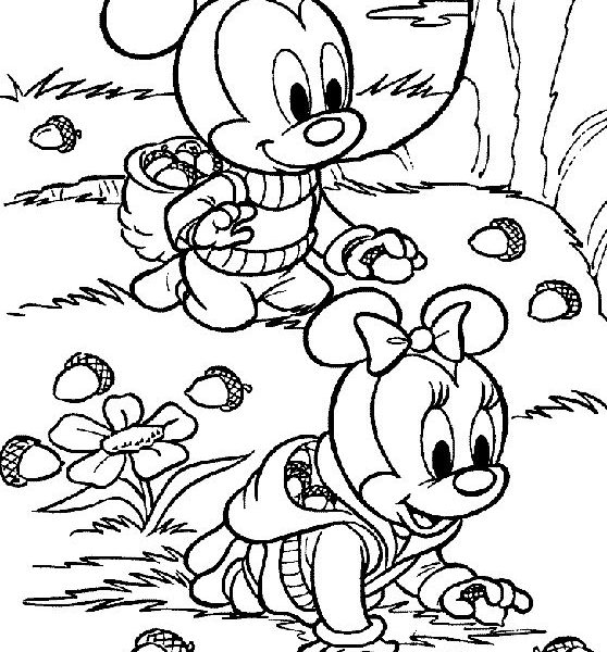 558x600 Coloring Pages For Kids Free Autumn And Fall Coloring Pages