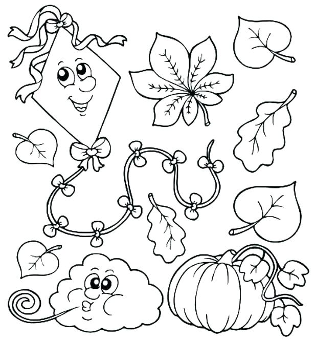 618x666 Fall Adult Coloring Pages