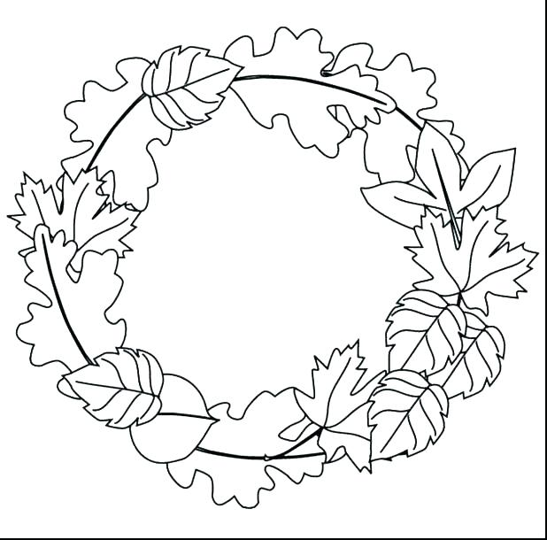 618x610 Fall Coloring Pages For Adults