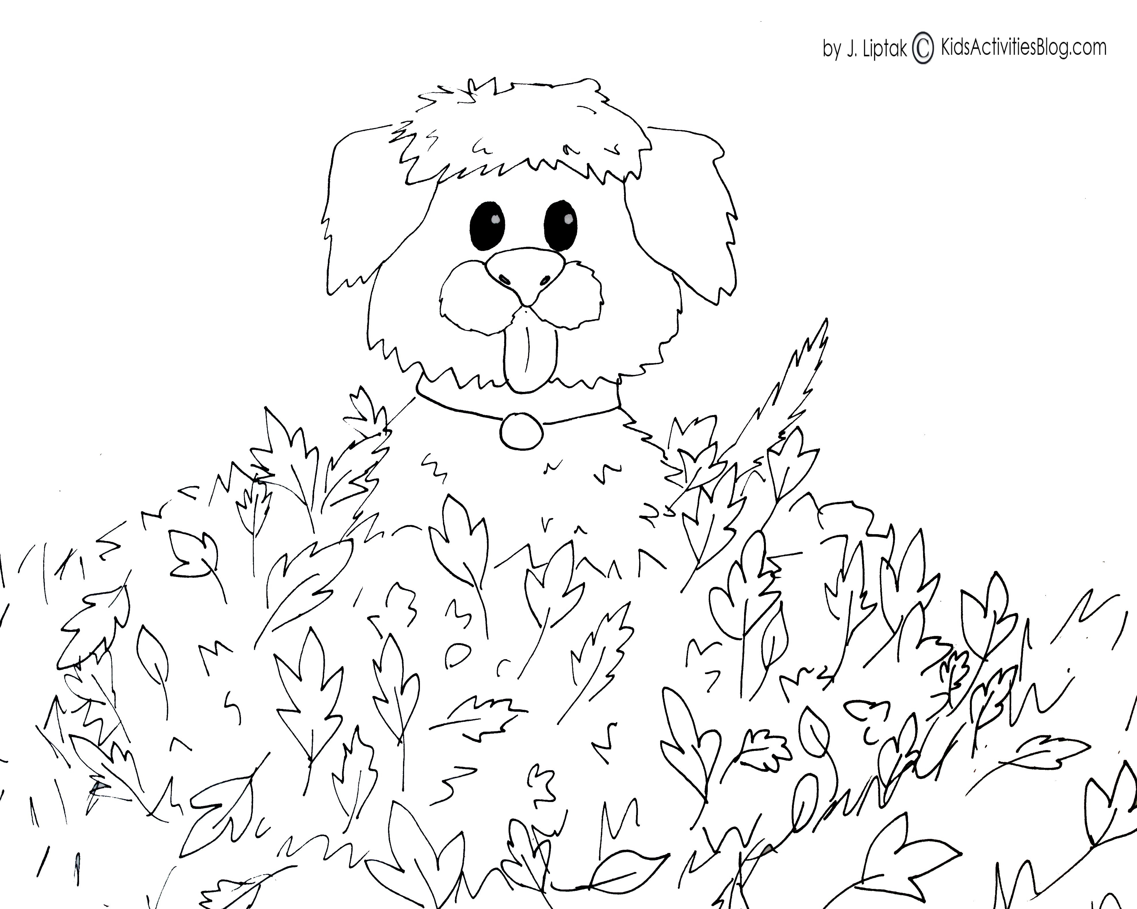 3953x3162 Autumn Coloring Pages With Pumpkin For Kids