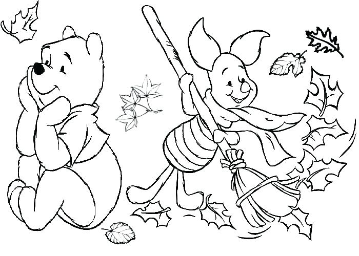 700x500 Fall Pictures To Color And Print Kindergarten Fall Coloring Pages