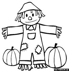 236x240 Fall Coloring Pages Fall Back