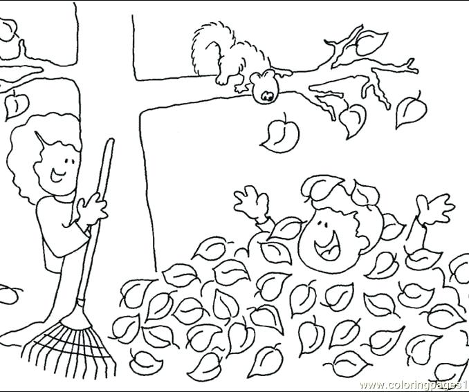 678x567 Free Coloring Pages Fall Autumn Coloring Pages Fall Tree Leaf