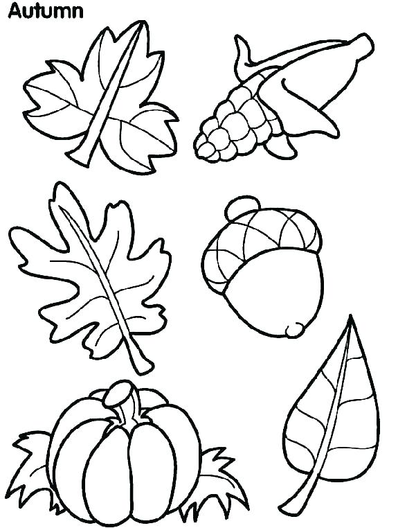 601x762 Free Preschool Fall Coloring Sheets Coloring Ideas Pro
