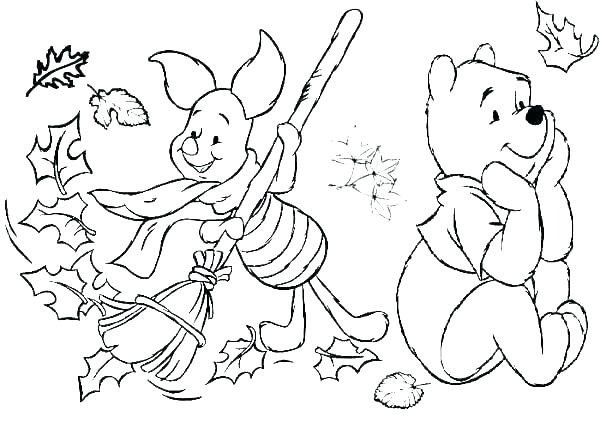 600x429 Coloring Pages For Preschool Free Fall Coloring Pages Leaf