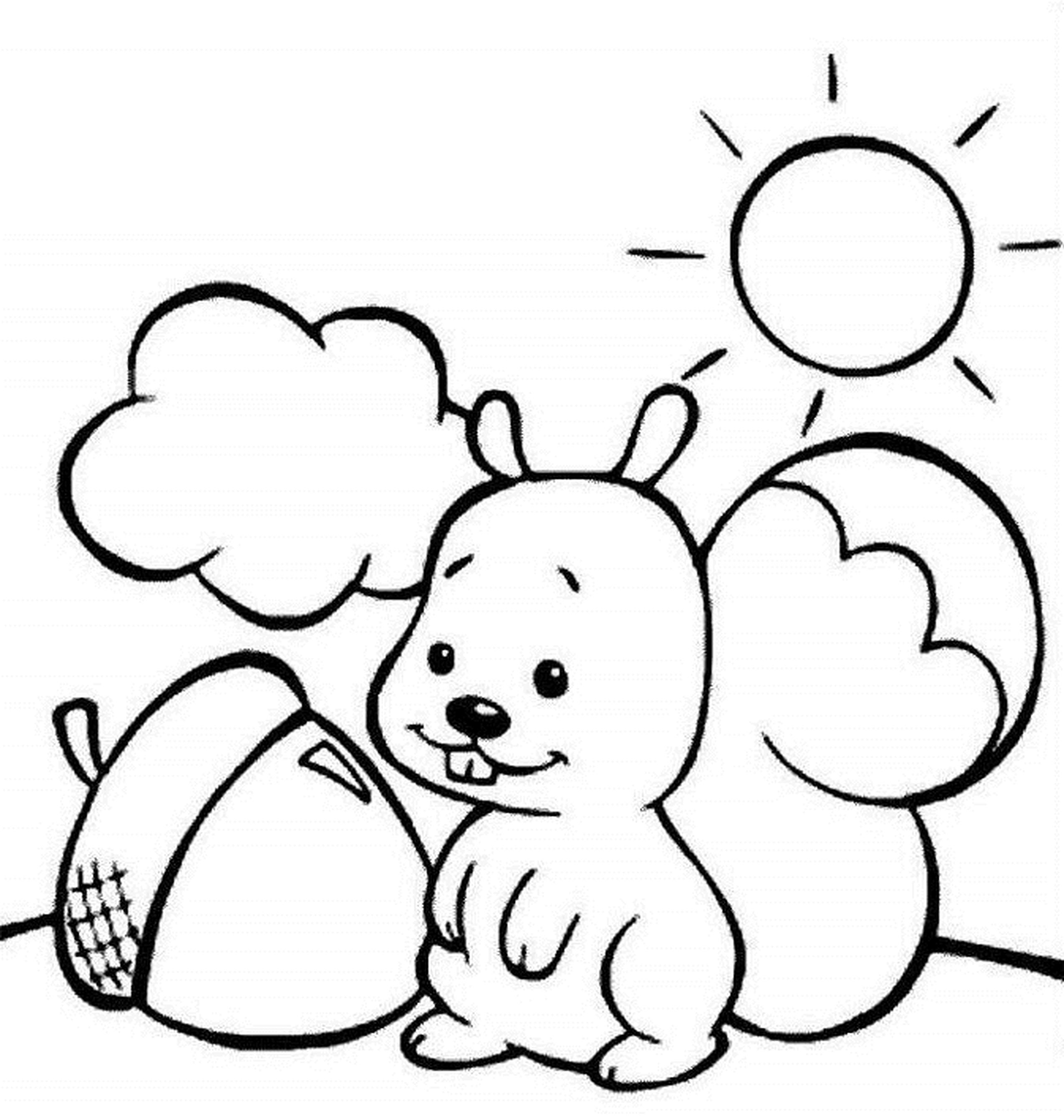 2550x2683 Fall Coloring Pages For Preschoolers Preschool Free Draw To Color