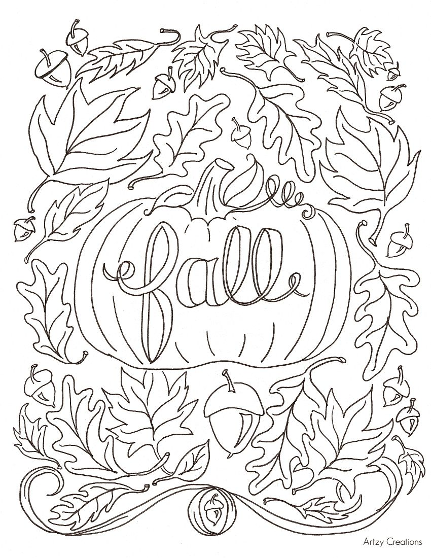 850x1100 Trend Coloring Pages For Fall Preschool In Tiny Coloring Pages