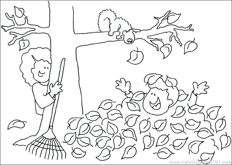794x567 Free Printable Autumn Colouring Pages